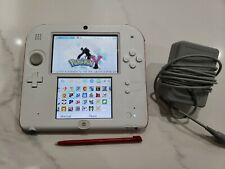 Nintendo 2DS with 32 3DS Games Installed Loaded Stylus and Charger Included