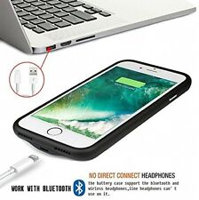 Ultra Slim Charging External Battery For iPhone 7 Power Case Backup Charger Case