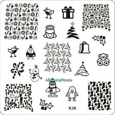 New Design DIY Nail Art Image Stamp Stamping Plates Manicure Template #XJ6