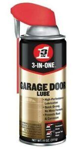 3-IN-ONE Professional Garage Door Lube. Prevents Rust & Corrosion. 2 WAYS SPRAYS