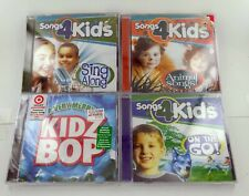 4x BRAND NEW KIDS CDS! Songs 4 Kids & Kidz Bop! FREE SHIPPING!