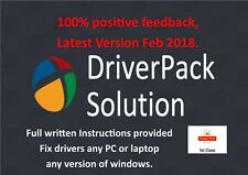 Windows Drivers, DriverPack Solution any computer XP, Vista, 7,8,10 download