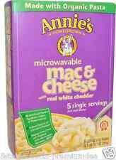 NEW ANNIE'S HOMEGROWN ORGANIC MICROWAVABLE MAC & CHEESE WHITE CHEDDAR ORGANIC