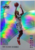 2018-19 Panini Status Shai Gilgeous-Alexander Rookie RC #106, Clippers