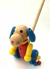 Schiebe-Königin Schiebefigur Schiebespielzeug aus Holz Prinzessin für Kinder Neu Holzspielzeug