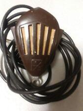 Vintage Webcor Webster Chicago Art Deco Metal Microphone Crystal MM 38