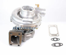 T3/T4 TO4E .63A/R JOURNAL TURBO CHARGER UNIVERSAL UPGRADE 4 BOLT INLET 5 BOLT DP