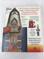 1998 The Amazing Pop-Up Pull Out Space Shuttle Book 4-Foot Model RARE