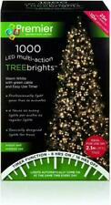Premier Decorations 1000 TreeBrights with Timer - Warm White