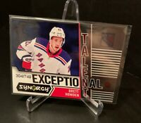 2018-19 SYNERGY EXCEPTIONAL TALENT ET- Brett Howden  RC  #304/749  1/1