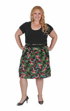 Empire Waist Machine Washable Casual Floral Dresses for Women