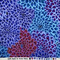 "Kaffe Fassett for Rowan Westminster Fabric Dahlia Blooms Floral 1yd 43x36"""