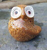 Ceramic Baby Owl Garden outdoor/Indoors SALE Ornament Gift