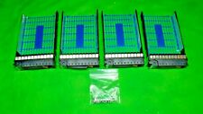 HP 335537-001 464507-002 3.5inch LFF HotSwap Hard Drive Tray Caddy Sled LOT 4  D
