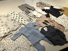 Baby Boys Clothes Bulk Lot 22x Items SEED, HUXBABY, BONDS Sizes 0000-00 Good Con