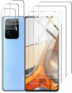 3X Schutzglas ( Display + Kamera ) für Xiaomi 11T /11T Pro 5G Panzerfolie 9H