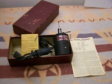 OLD 1951 HANDEE 85 DREMEL TYPE ELECTRIC TOOL UNUSED? +INSTRUCTIONS CHICAGO WHEEL