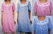 Polycotton Nightdresses Shirts Floral Women's Lingerie & Nightwear