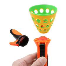 Click and Catch Twin Ball Game Indoor Outdoor Garden Toy Launch Catch ball WE