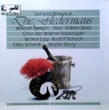 Die Fledermaus (Höhepunkte) by Johann Strauss Jr. (CD, German, Eurodisc)258369