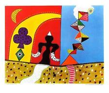 Alan Davie Bird Spirit pequeños carteles son impresiones artísticas imagen 46x55cm
