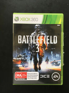 "Battlefield 3 ""With Booklet & CODE""- Microsoft  XBOX 360 - FREE POST"
