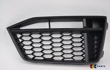 NUOVE Originali Audi TT 15-17 S-LINE PARAURTI ANTERIORE INFERIORE O/S Destro GRILL TRIM NERO