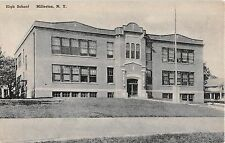 c.1920? High School Millerton NY post card Dutchess County