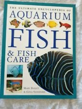 The ultimate encyclopedia aquarium fish and fish care large book used good cond.