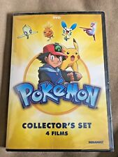 Pokemon Collectors Set: 4 Movies (DVD, 2015) NEW