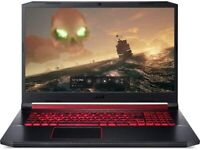 "ACER Nitro 5 AN517 17.3"" Gaming Laptop Intel Quad Core i5 GTX 1650 256 GB 8GB"