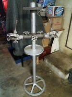 Vintage 1940's ELDI Bicycle Work Stand No Damage all pieces included.