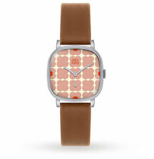 Orla Kiely OK2023 Ladies Cecelia Tan Leather Strap Watch RRP £110