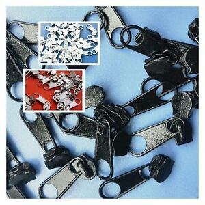 50PCS Instant Rescue Repair Kit Nylon Replacement Zipper Slider  # 3