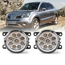 LED Left & Right Driving Lamps Fog Lights For Renault Koleos Kangoo HY 2008-2015