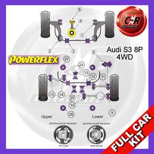 Audi S3 Mk2 8P (2006-) Powerflex Complete Bush Kit