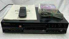 Pioneer Pdr-509 Compact Disk Cd Recorder Player + Remote/Manual/Wires - Working