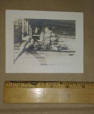 Vintage Hunting & Camp photo album Seboois Bridge Patten Maine 1911 free S/H