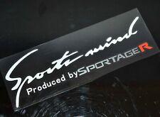 AU White Sports Mind Car Body Windshield Vehicle Decal Vinyl Sticker Waterproof
