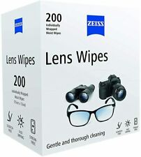 200 Pack ZEISS Lens Cleaning Wipes   Cameras PHONES Optical Glasses
