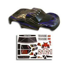 Redcat Racing 55901 RC Truck Body 1/10 Vortex Blue and Black Short Course Decal