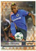 2017 2016-17 Topps UEFA Champions League Showcase Orange #46 Jose Izquierdo