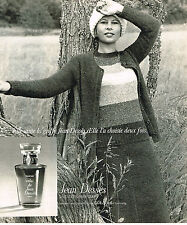 PUBLICITE ADVERTISING 084  1975  JEAN DESSES   sweaters parfums