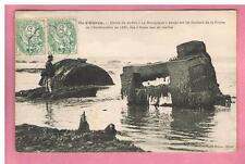 """CPA - ILE D'OLERON - 17 - EPAVE DU NAVIRE """"LA BOURGOGNE """"  COULE EN 1885"""