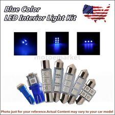 US 7Pc Car LED Interior Blue light Package for 2006-2008 Honda Civic Coupe Sedan
