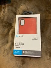 Speck Presidio Pro - iPhone XS / X -  Heartrate Red/Vermillion Red