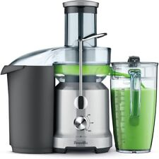 Breville BJE430SIL 70 oz. Juice Fountain Cold Juicer, Silver, Brand New