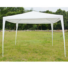 10'x10'Canopy Party Wedding Tent Heavy duty Gazebo Pavilion Cater Events White