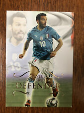 2011 Unique Futera Soccer Card - Italy ZAMBROTTA Mint