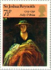 """GREAT BRITAIN -1973- Painting """"Nelly O'Brien"""" by Sir Joshua Reynolds - MNH--#699"""